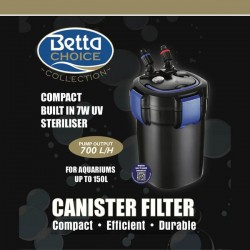 Betta Choice 700 UV Canister Filter 150L