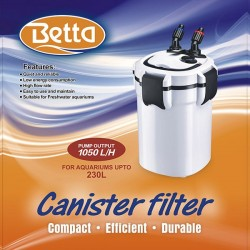 Betta 1050 Canister Filter 230L