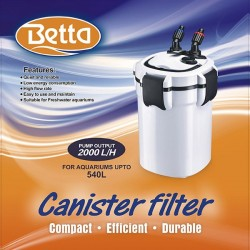 Betta 2000 Canister Filter 540L