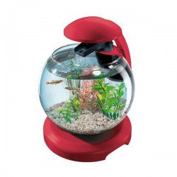 Tetra Cascade Globe Red Aquarium 6.8L *New*