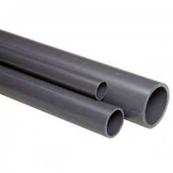 40mm PVC Pipe (1m Length)