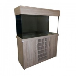 "Clearseal Wine Rack Aquarium 48""-Truffle Bardolino"
