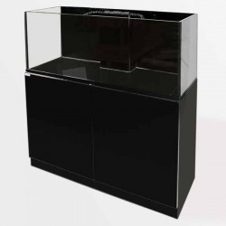 Clear-Reef Set (Aq, Cab & Sump)120cm - Black Gloss
