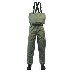 WADERS with breathable material, neoprene sock AB-TUA/AB-TUB