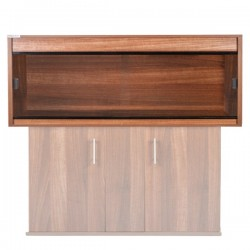 "Clearseal Premier Vivarium 48"" x 24"" x 24"" -Walnut"
