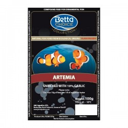 Betta Choice Artemia with Garlic Blister Pack x 10