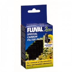 Fluval 3 Plus Special Carbon Filter Pads x 4