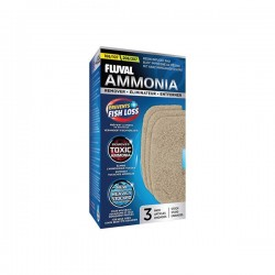 Fluval Ammonia Remover Pad 107/207 3 pack *New*